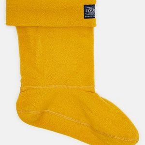 💥 3 for 20 💥 Joules Yellow Mid Calf Welly Socks